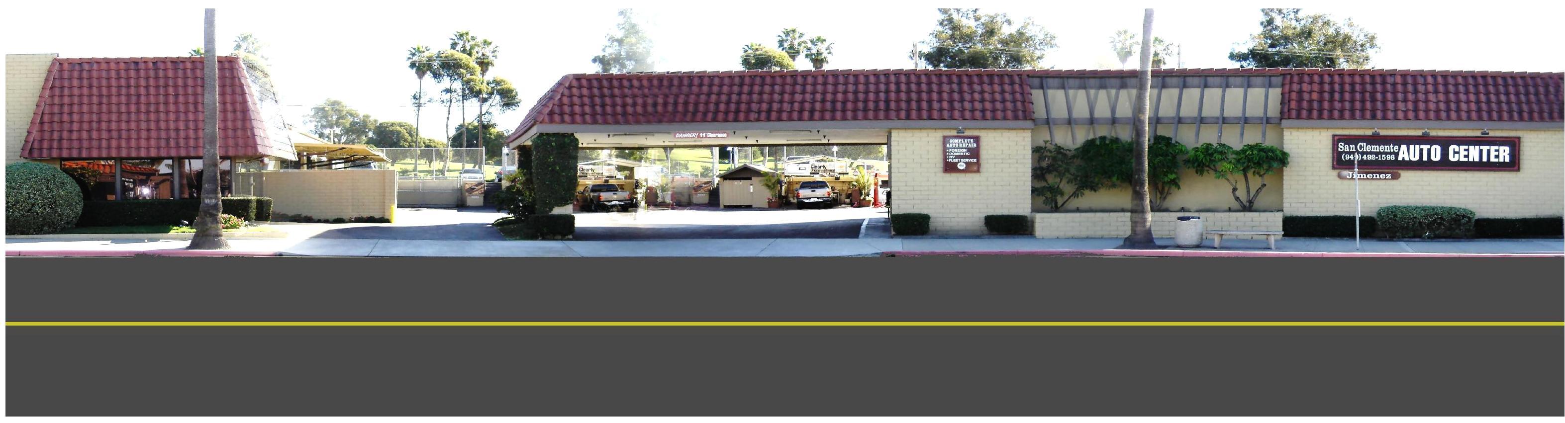 San Clemente Auto Center 2345 S. El Camino Real San Clemente CA 92672 (949) 492-1596